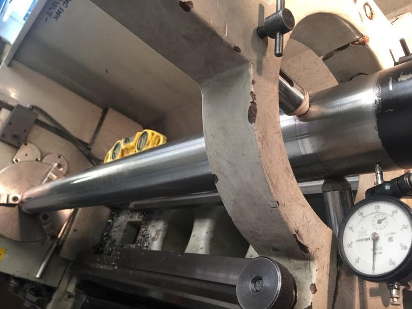 Fabricacion de vastago barra cromada en canarias