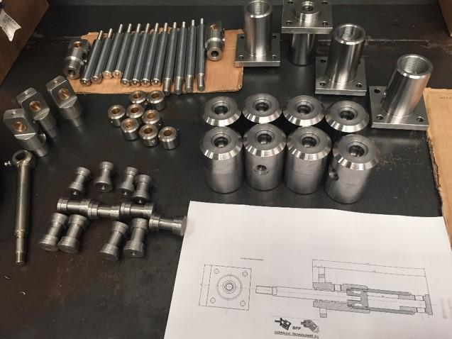 fabricacion de componestes hidráulicos