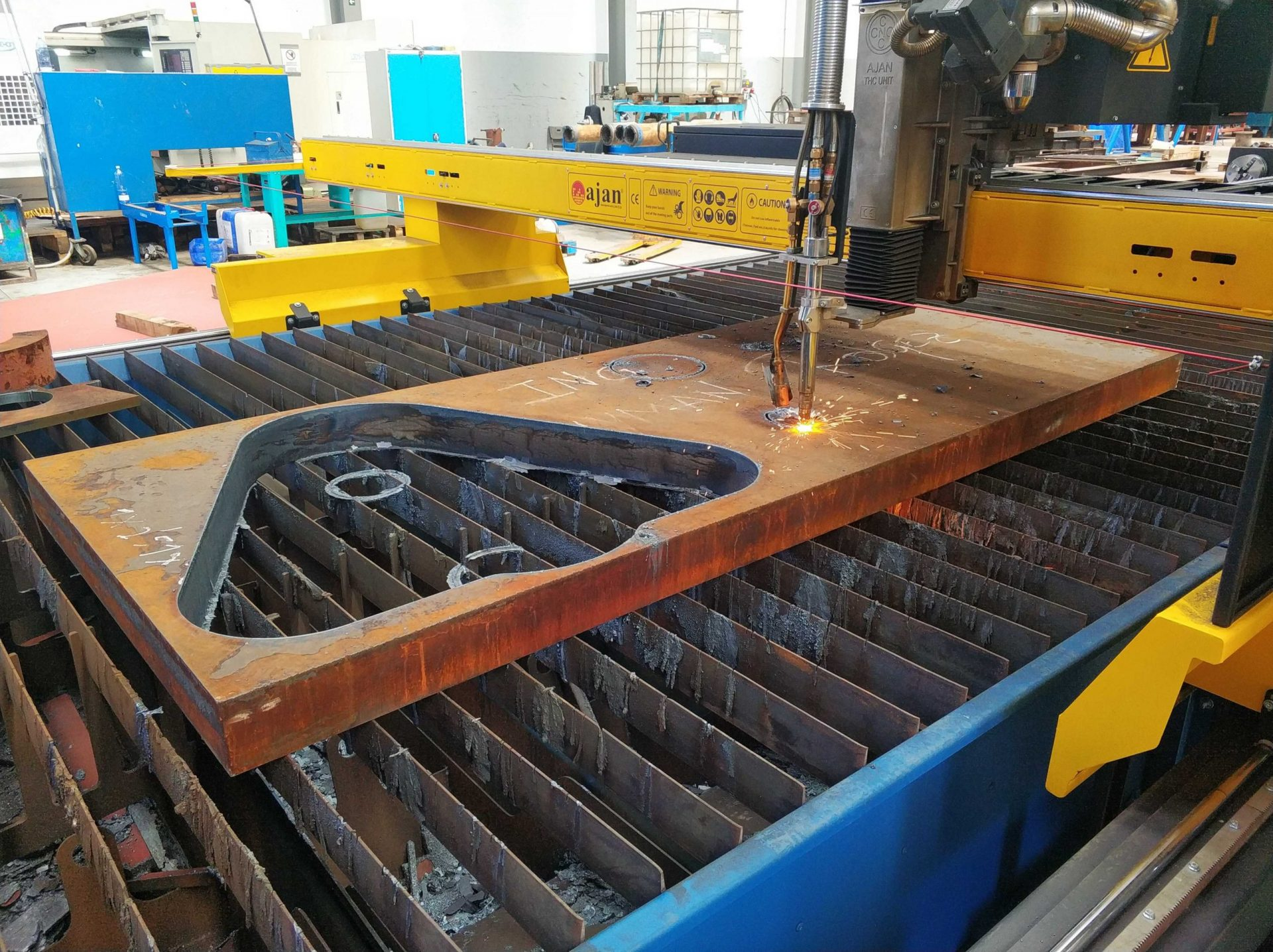 Offshore structure fabrication