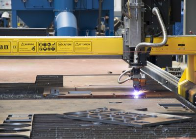 Hidramar Group CNC plasma plate cutting machine