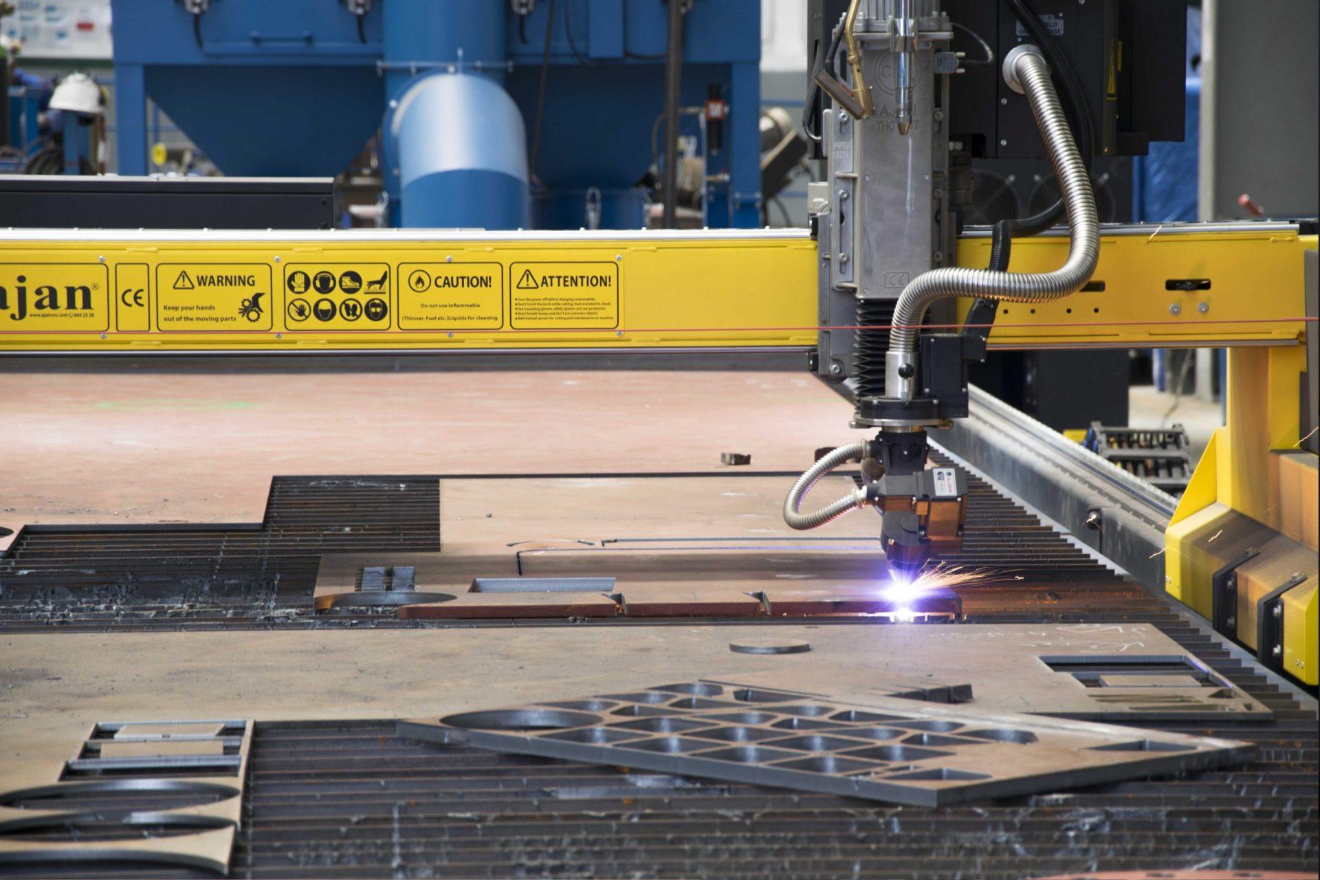Hidramar Group CNC plasma plate cutting machine scaled