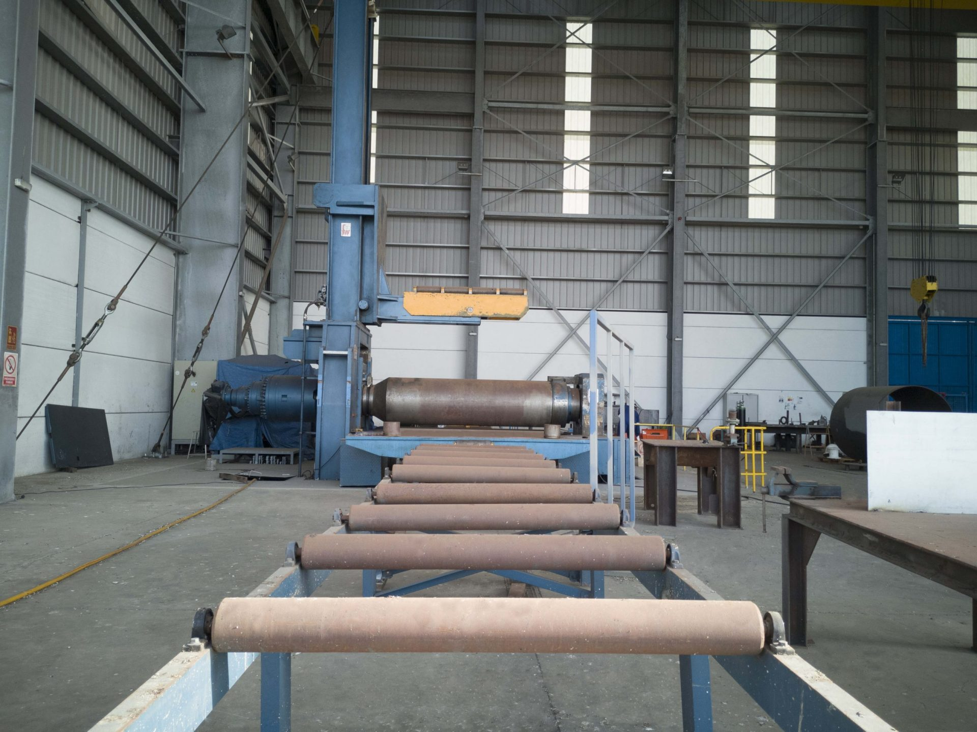 Rolling Machine Workshop_ Piles Fabrication
