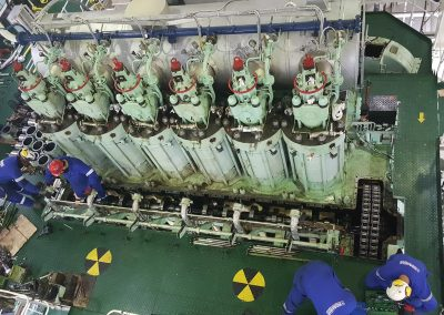 CHRISTOS THEO - WILHELMSEN Main engine hoverhauling service