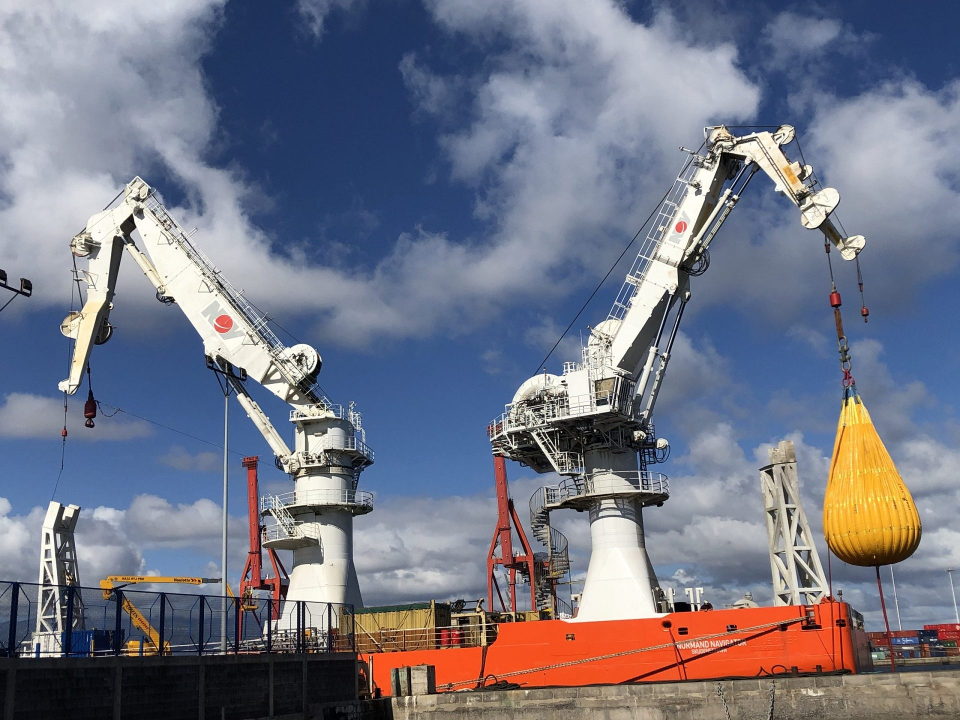 Crane load test scaled