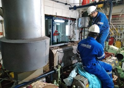 Main Engine Overhauling MV ONAT