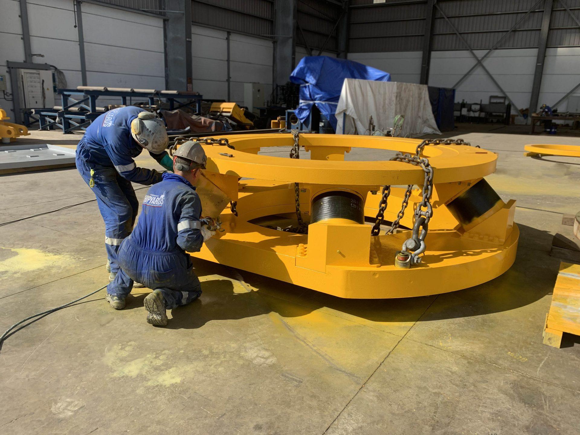 Painting services gilmbal drillship west jupiter