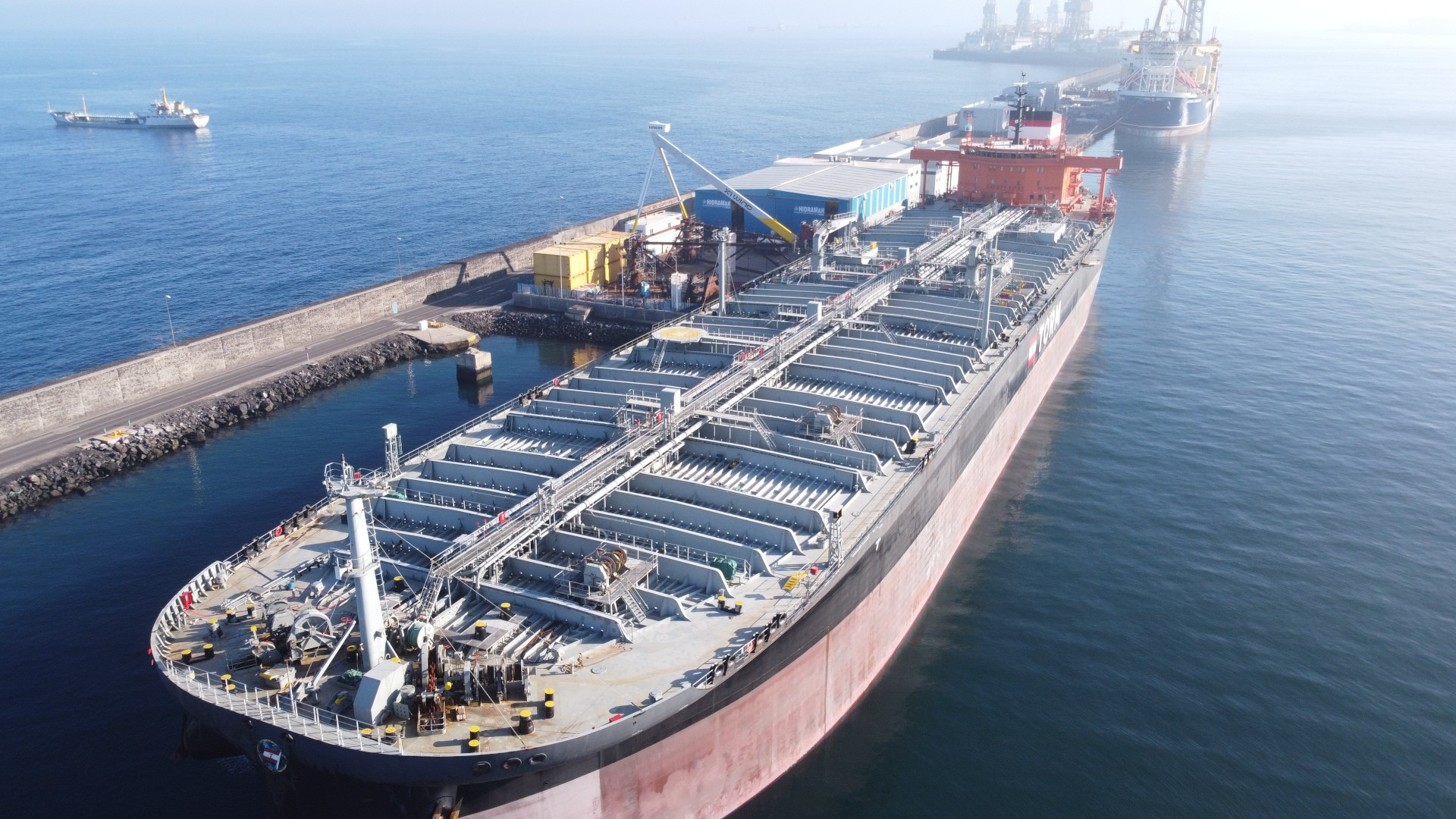 hidramar group takes on hull repair of a crude oil tanker vessel ship 001 1