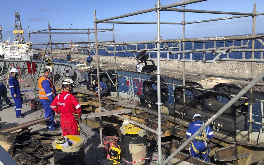 Le Hidramar Group entreprend la réparation de la coque d'un pétrolier brut