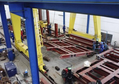 modules fabrication and assembly for west tellus
