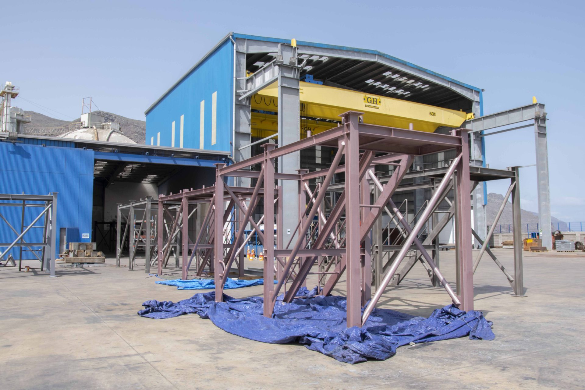 Tenerife Shipyards modules fabrication and assembly