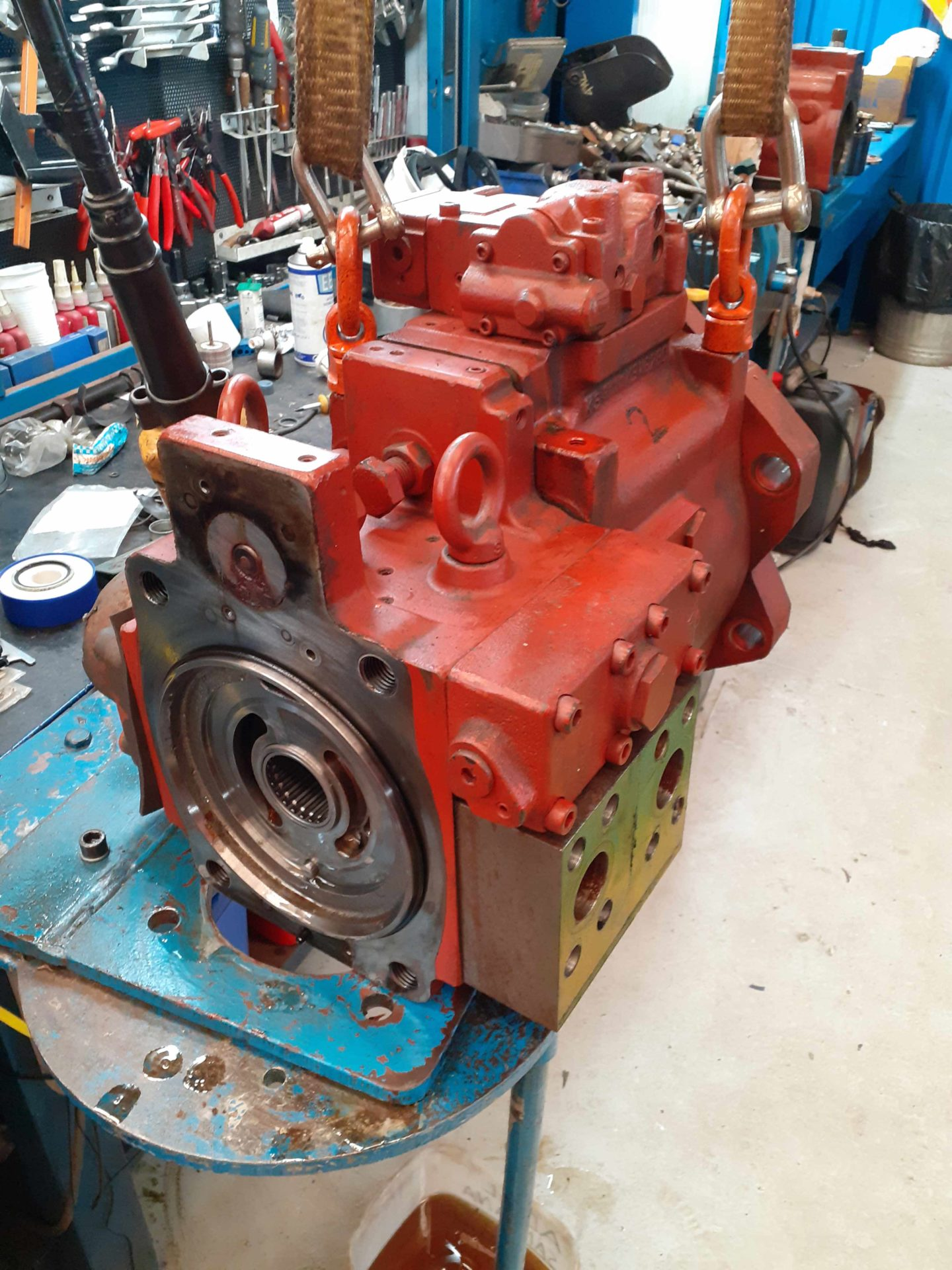 Fishing vessels Services pumps repair and maintenance