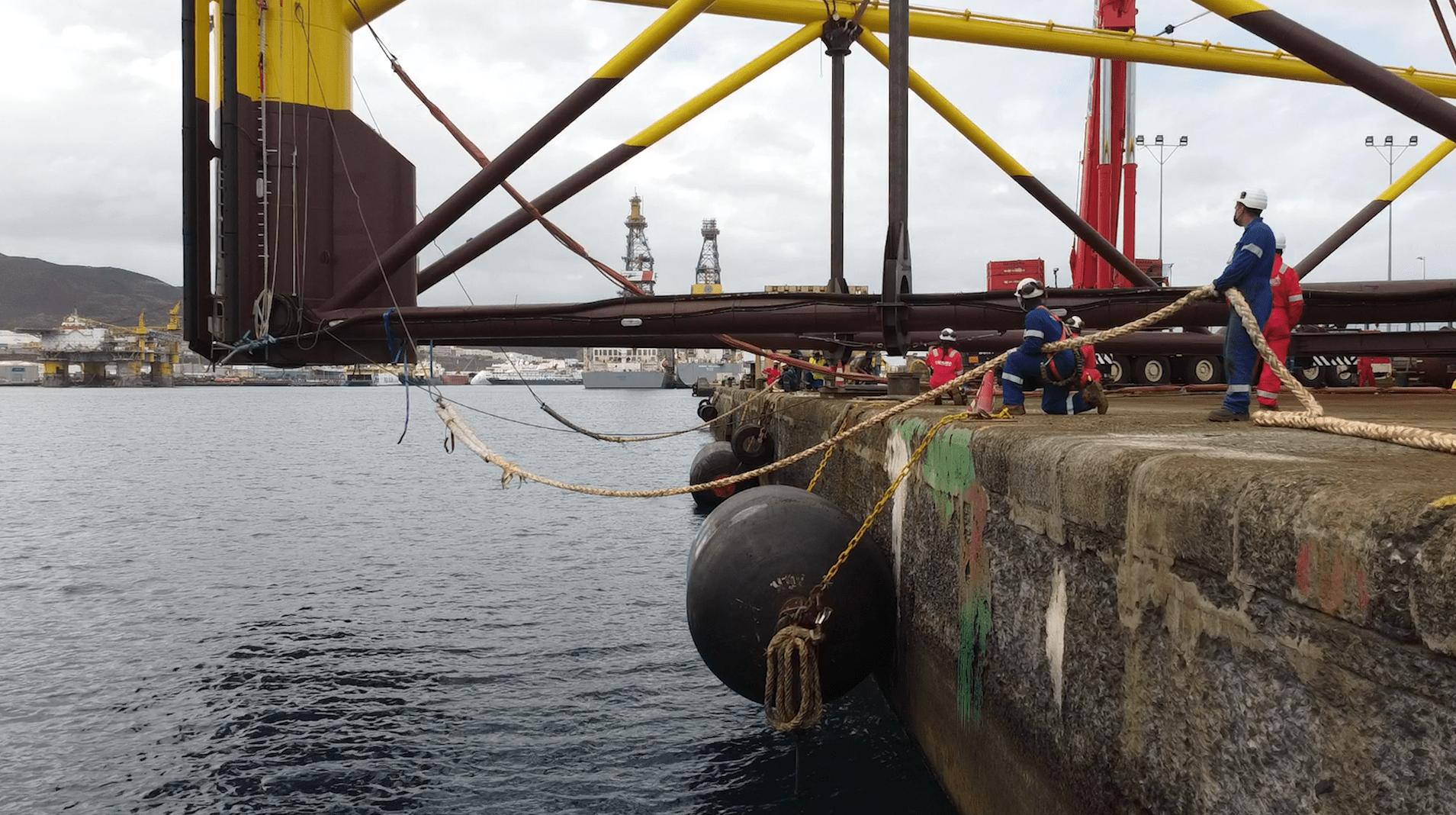 PivotBuoy Load out at Hidramar Shipyards