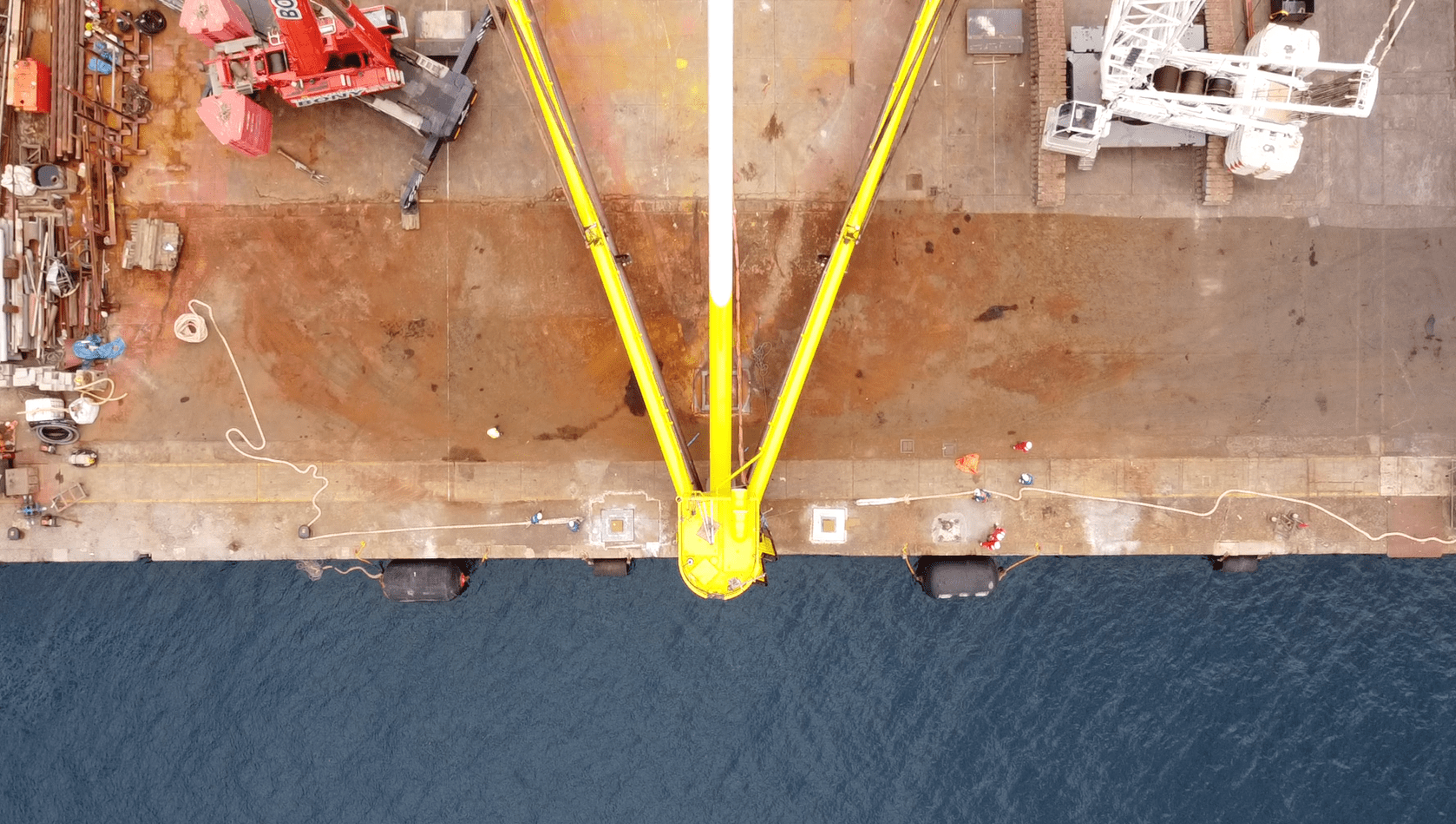 Load Out at Hidramar Shipyards