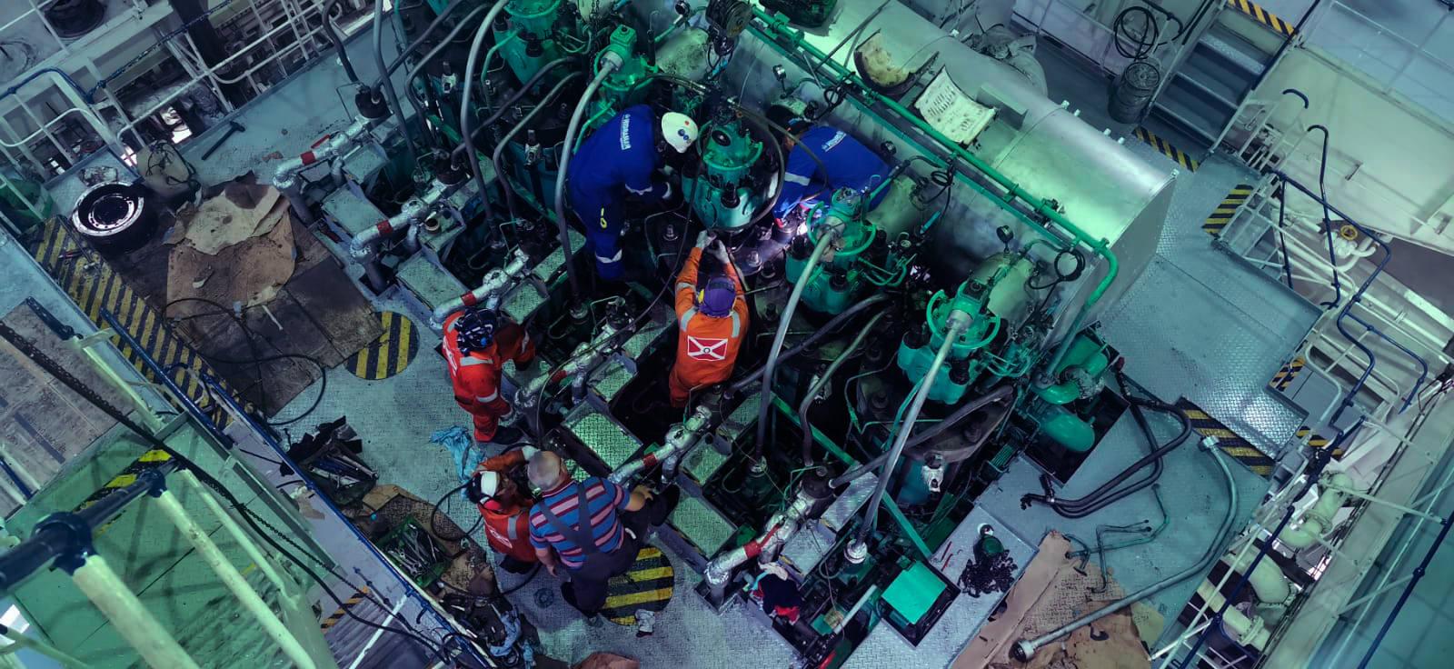 Vessel Main engine overhaul vessel Liberty