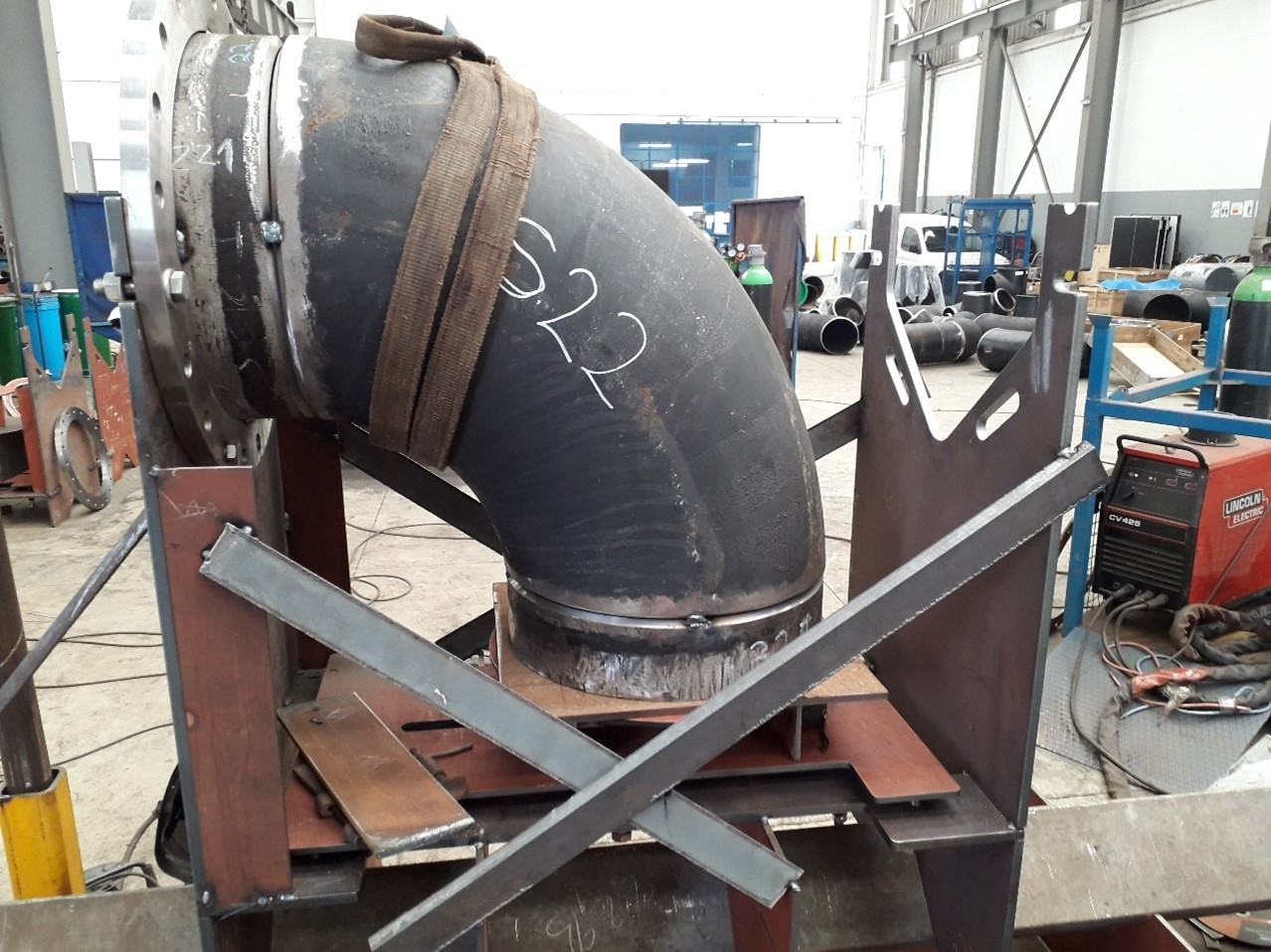 Spools assembly for BWTS