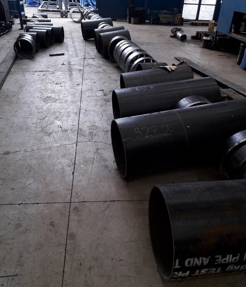 Spools fabrication for ballast water drilship