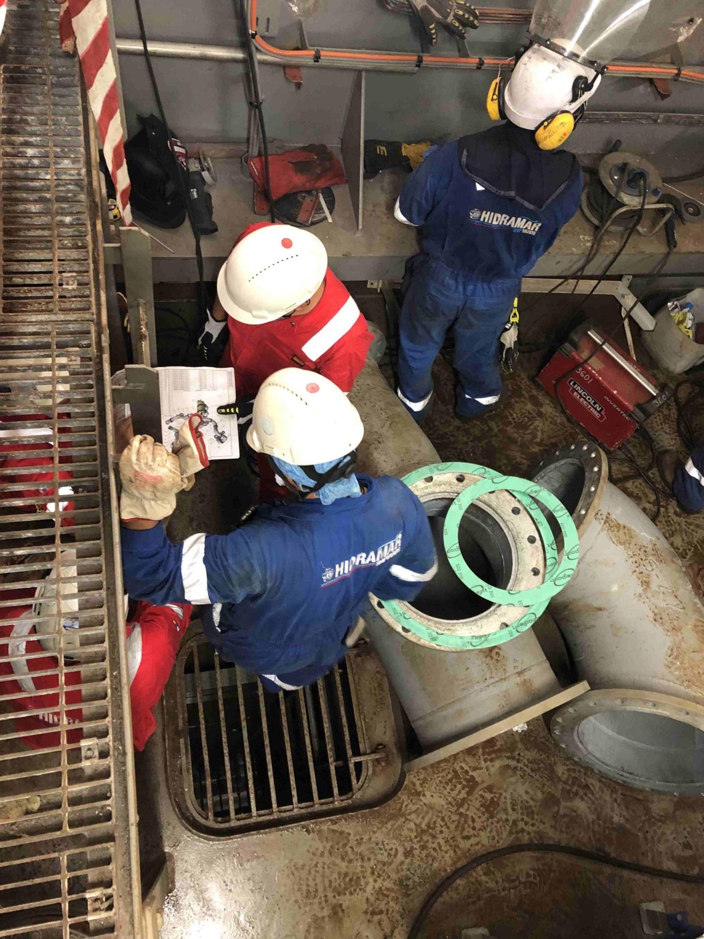 Ballast Water treatment installation